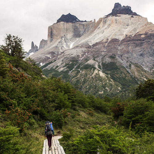 Trail to the French Valley, Paine Horns