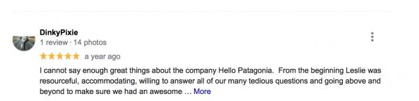 hello patagonia review