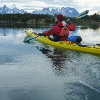 patagonia hike and kayak