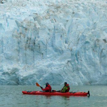 Serrano Glacier front