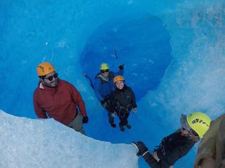 Amy Fitzgerald Grey glacier Hike