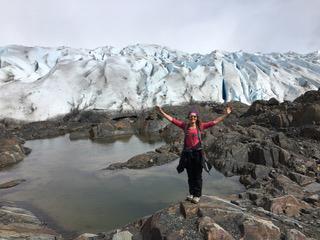Amy Fitzgerald Grey glacier