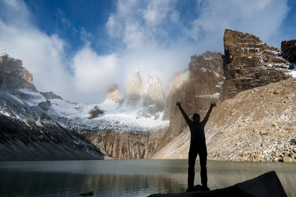 paine towers, O Circuit trip, Torres del Paine, Hello patagonia guests trip