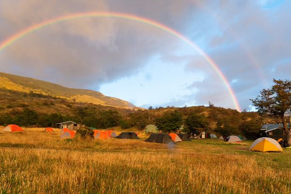 dickson camping, O Circuit trip, Torres del Paine, Hello patagonia guests trip