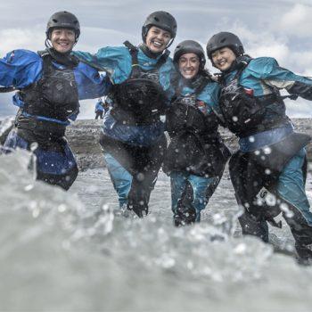 patagonia kayaking with drysuits